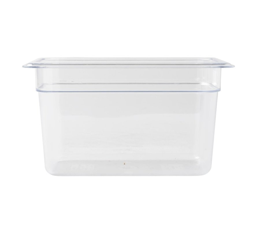 Camwear Gastronormbak helder transparant 1/4 x 150 mm polycarbonaat, 1 stuk