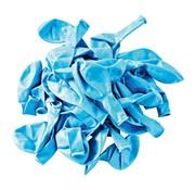 Overige merken Globos Ballonnen lichtblauw, onbedrukt 30 cm, 100 stuks