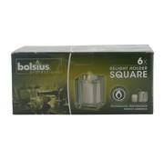 Bolsius Bolsius Relight houder square, 6 stuks