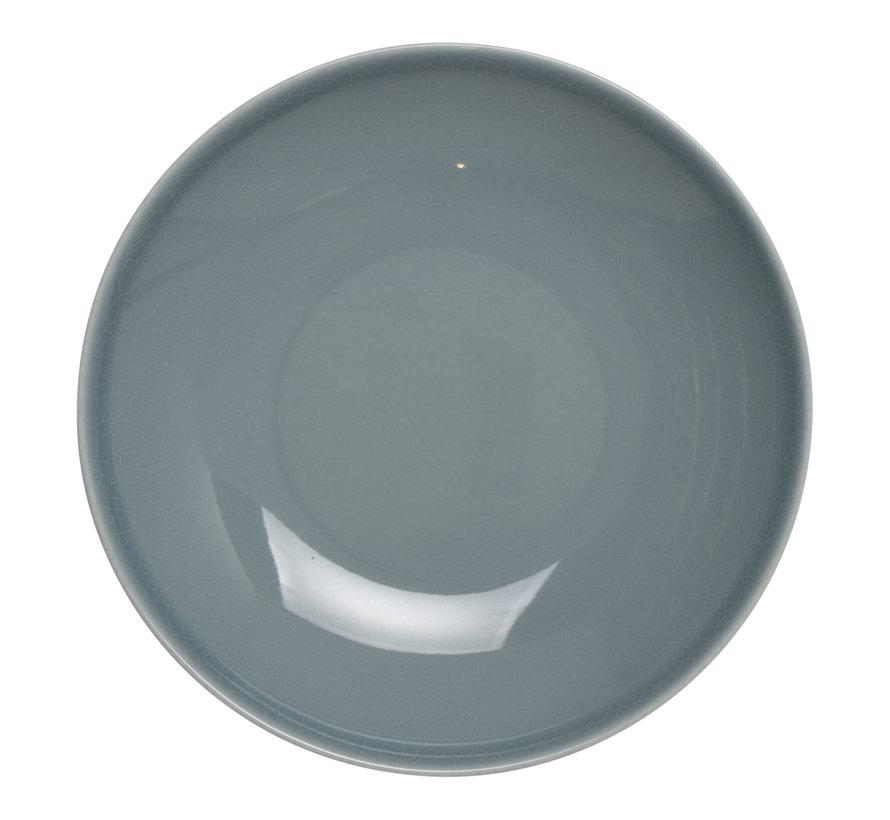 Rak Bord diep blauw 23 cm, 1 stuk