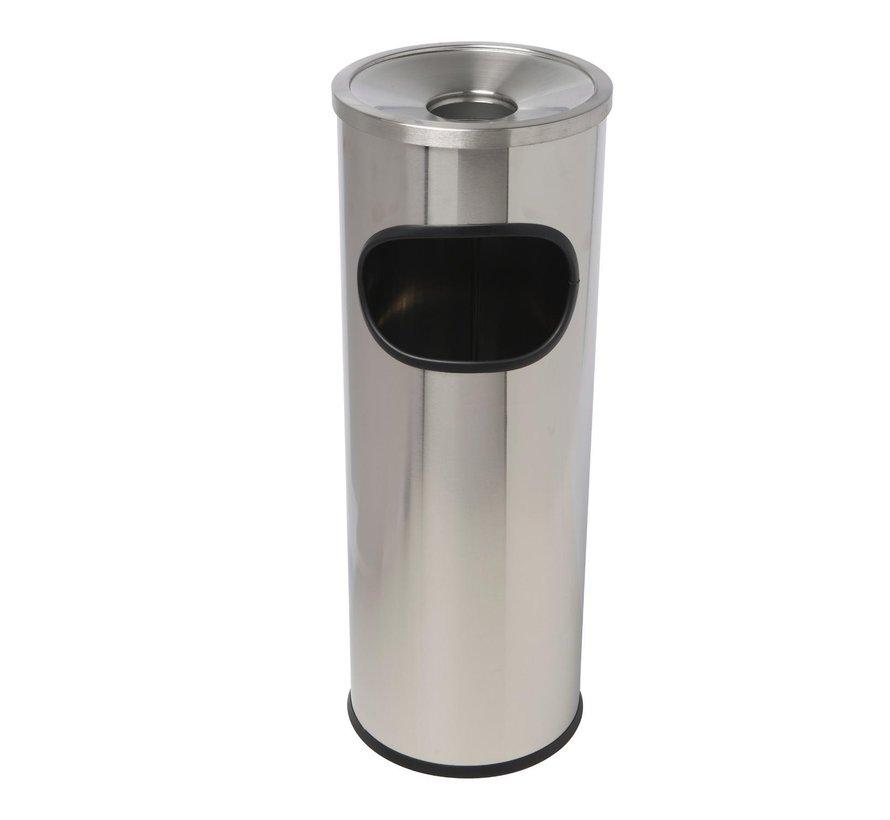Vepa Bins Afvalbak met ge•ntegreerde asbak aan bovenzijde, 1 stuk