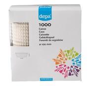 Overige merken Depa Caisses wit 100 mm, 1000 stuks