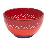 Overige merken Bowl&Dishe Schaal rood, 14 cm, 1 stuk