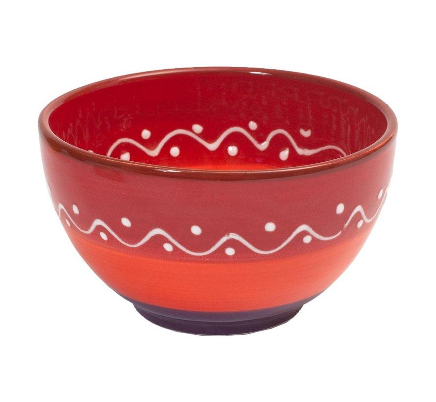 Bowl&Dishe Schaal rood, 14 cm, 1 stuk