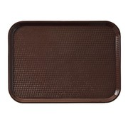 Overige merken Cambro Dienblad bruin 435 x 306 mm, 1 stuk