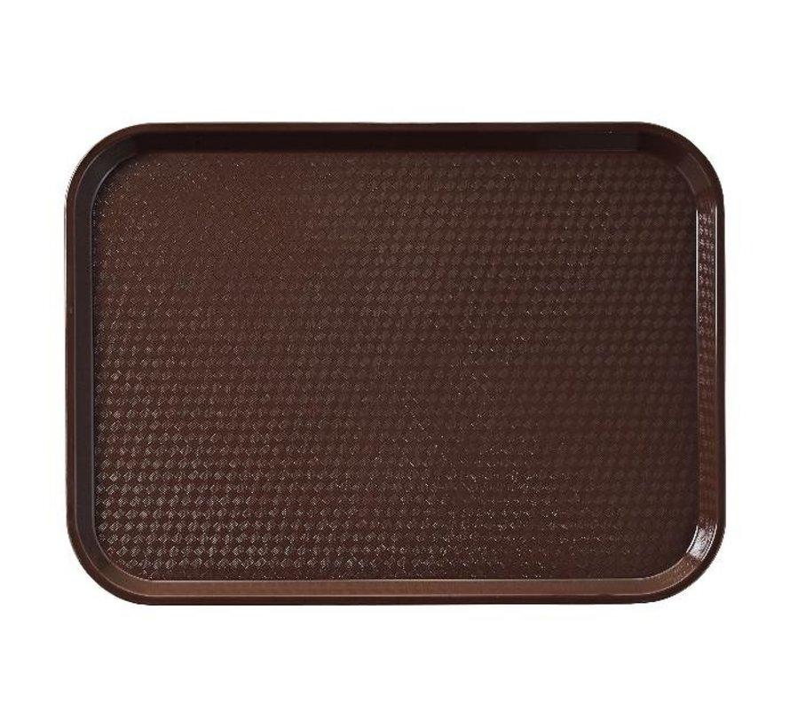 Cambro Dienblad bruin 435 x 306 mm, 1 stuk