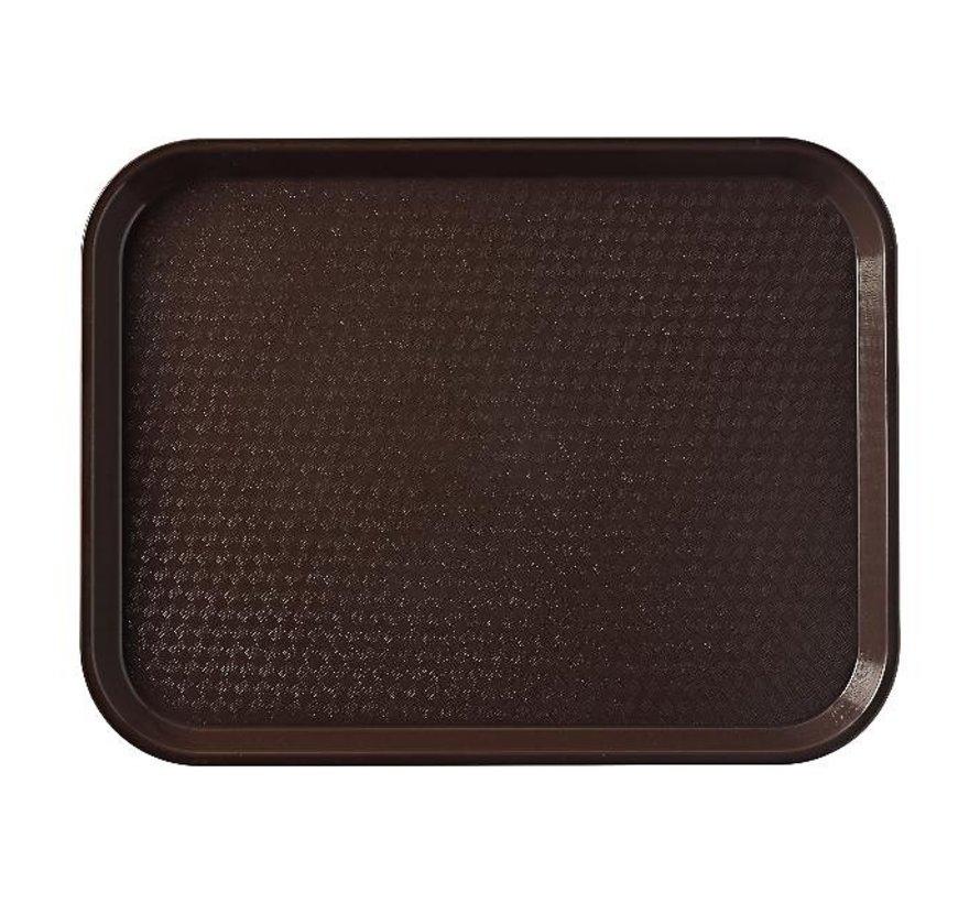 Cambro Dienblad bruin 365 x 270 mm, 1 stuk