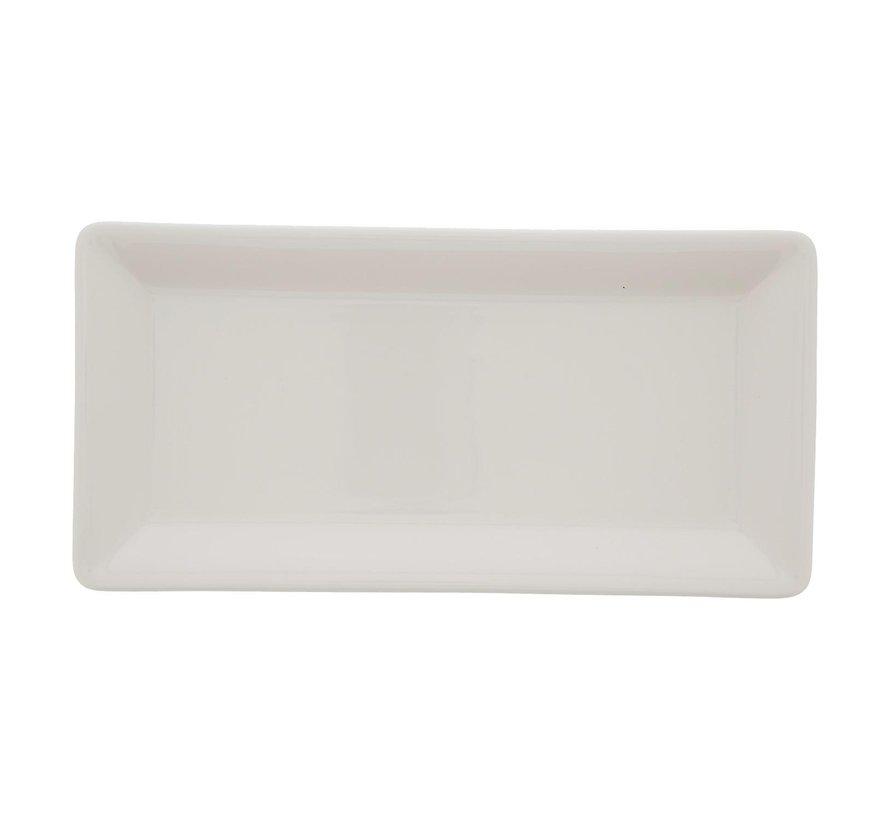 Villeroy & Boch Schaal rechthoek wit, 24 x 12 cm, 1 stuk