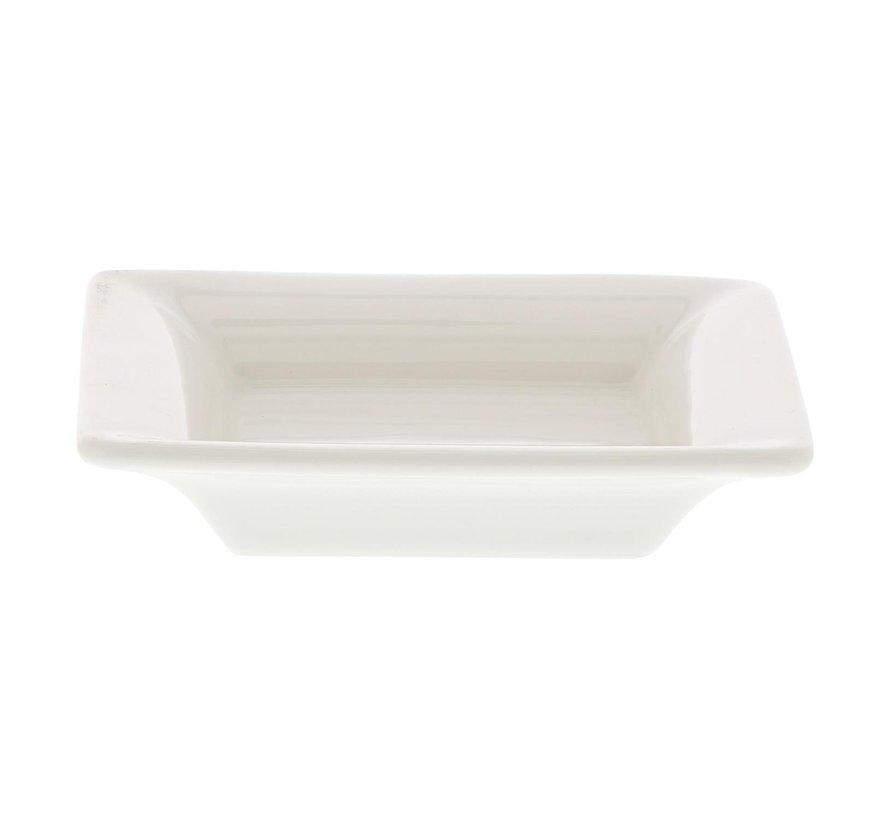 Villeroy & Boch Schaal vierkant wit, 9 x 9 x 3 cm, 1 stuk