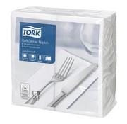 Overige merken Tork Servetten 3-laags wit, 39 x 39 cm, 100 stuks