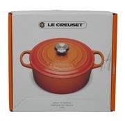 Overige merken Le Creuset Braadpan met deksel 24 cm oranje, rond, 1 stuk