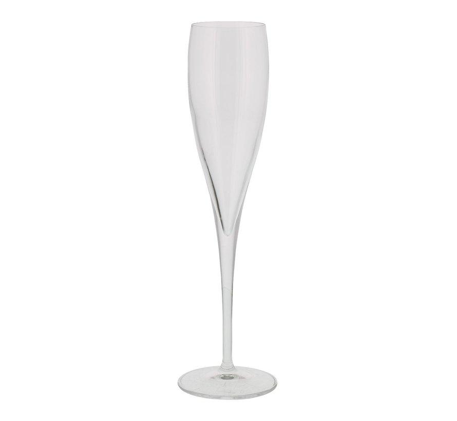 Luigi Borm Vinoteque champagne flute 17,5 cl, 6 stuks