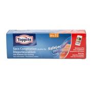 Overige merken Toppits Safeloc 1 liter diepvrieszakken, 6 maal 20 stuks