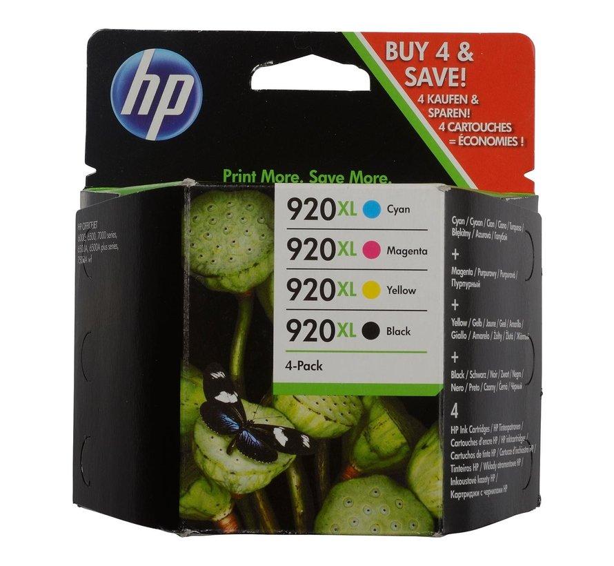 Hp Inktcartridge 920XL C2N92AE zwart-kleur, 1 stuk