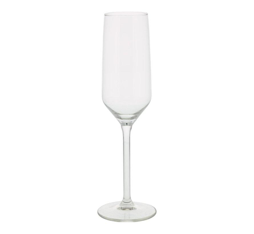 Royal Leer Champagne flute 22 cl, 6 stuks