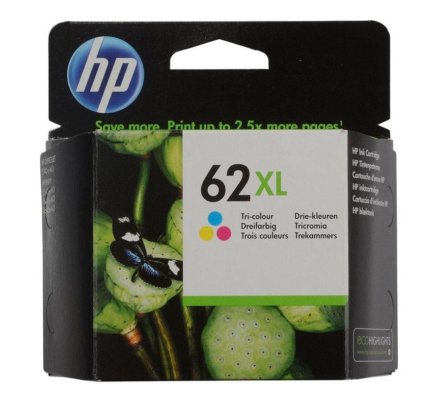 Hp Inktcartridge 62XL kleur, 1 stuk