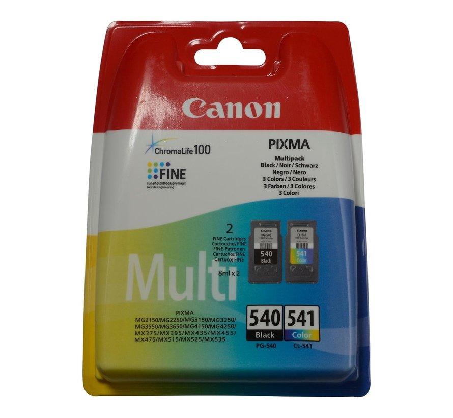 Canon PG540 CL541 zwart/kleur, 1 stuk