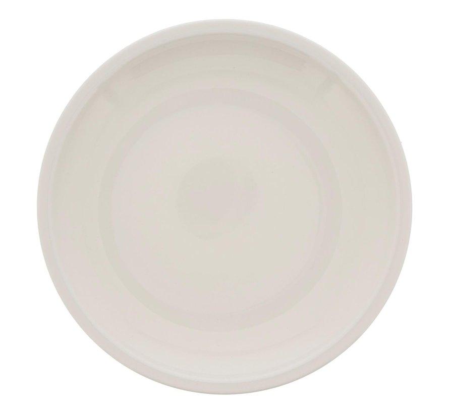 Villeroy & Boch Bord wit, Ø 16 cm, 1 stuk