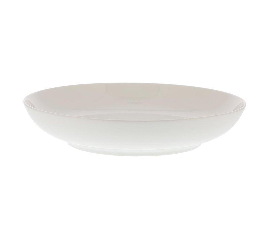 Intermezzo Bord diep wit, 23 cm, 1 stuk