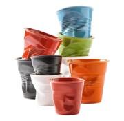 Overige merken Revol Koffiekreukbeker zwart, 0,18 liter, 1 stuk
