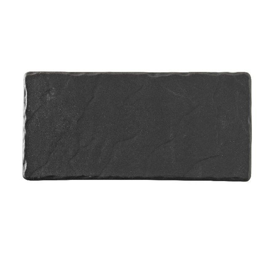 Revol Bord rechthoekig grijs, 25 x 12 cm, 1 stuk