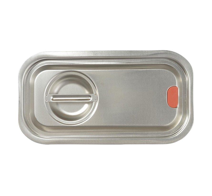 Tgff Gastronormdeksel Silicon 1/3, 1 stuk
