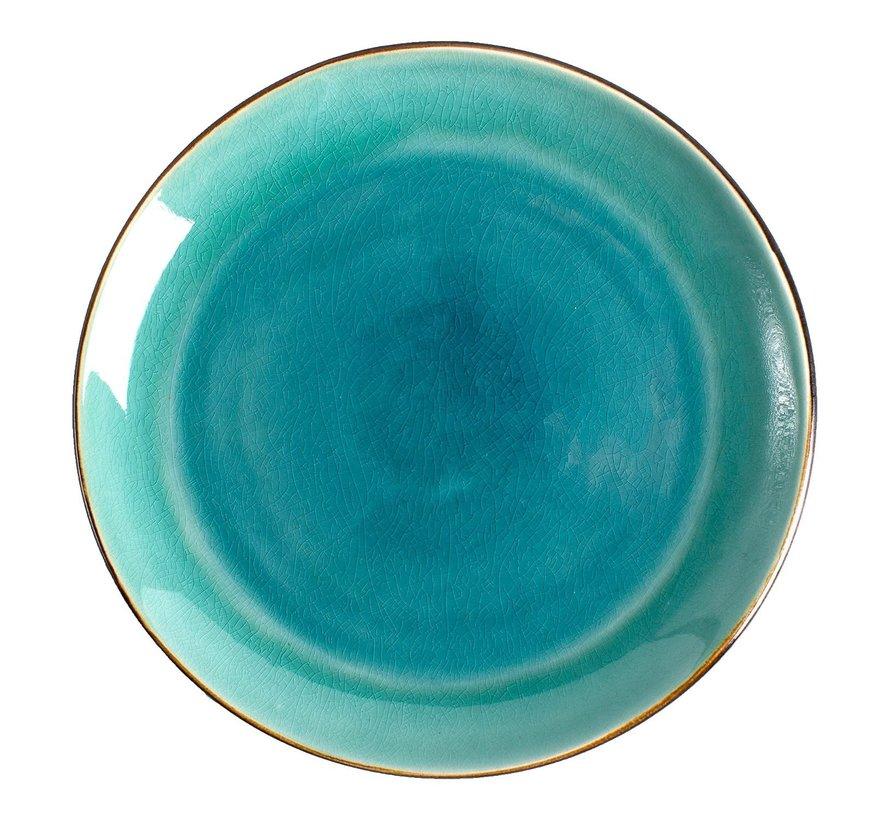 Gastro Bord coupe zeeblauw 20 cm, 1 stuk