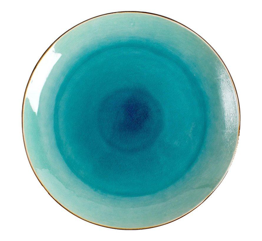 Gastro Bord coupe zeeblauw 26,5 cm, 1 stuk