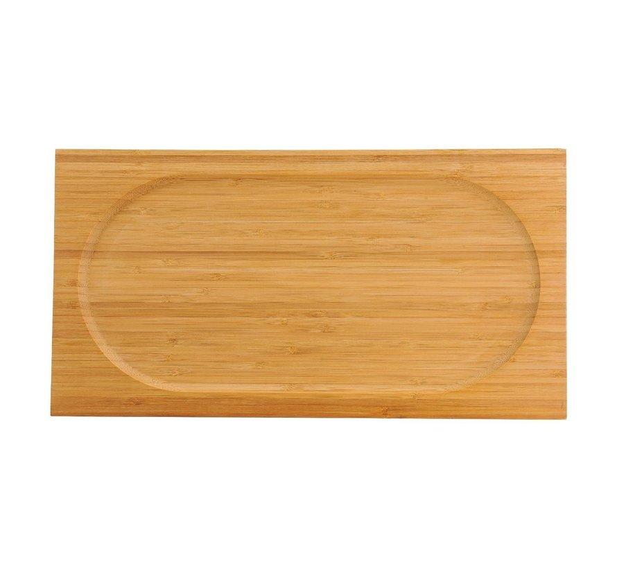 Chic Bamboe serveerplateau 42 x 22 cm, 1 stuk