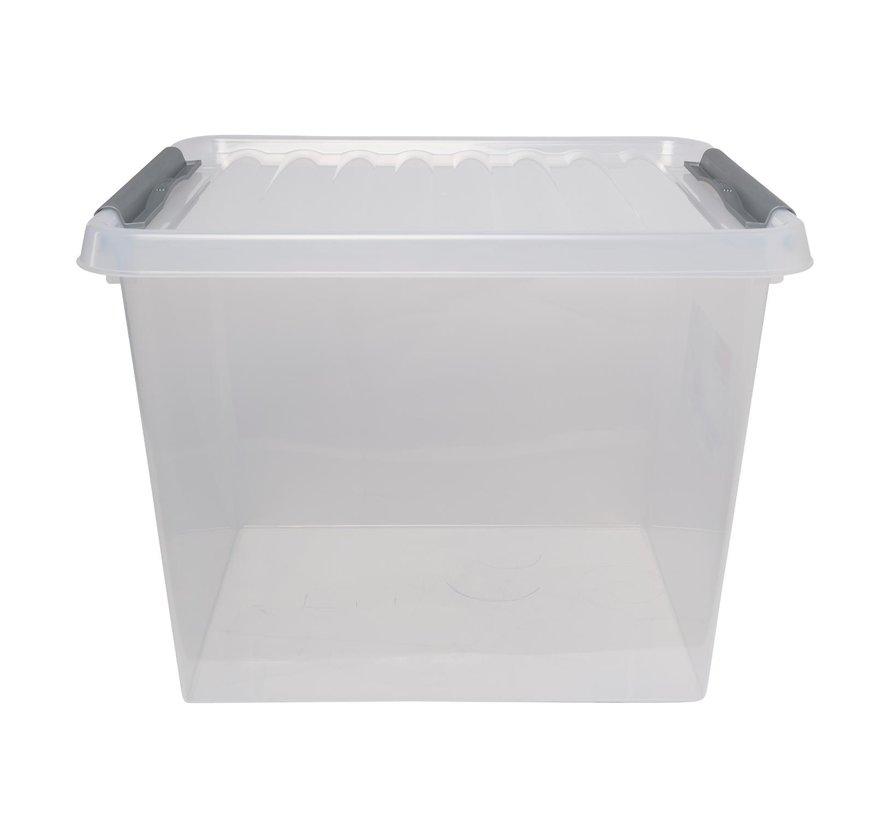 Sunware Opbergbox met deksel 52 liter 500 x 400 x 380 mm, 1 stuk