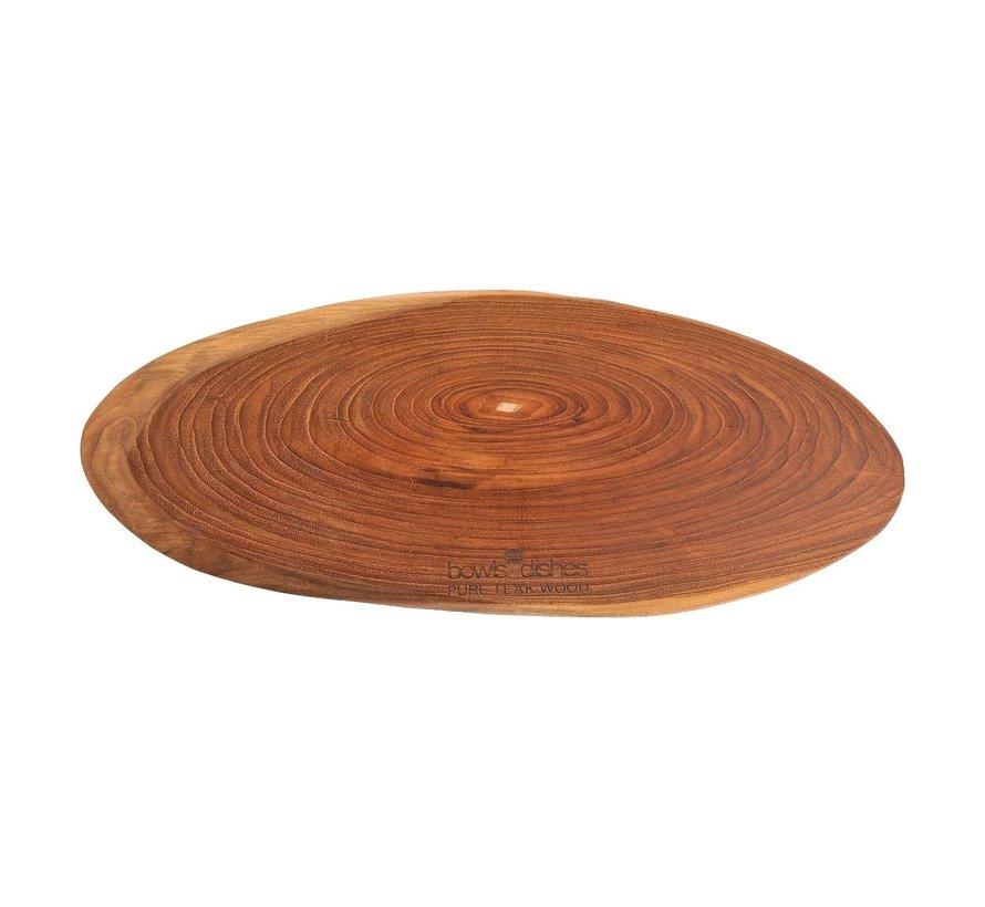 Bowl&Dishe Tapasplank teak 50 cm, 1 stuk