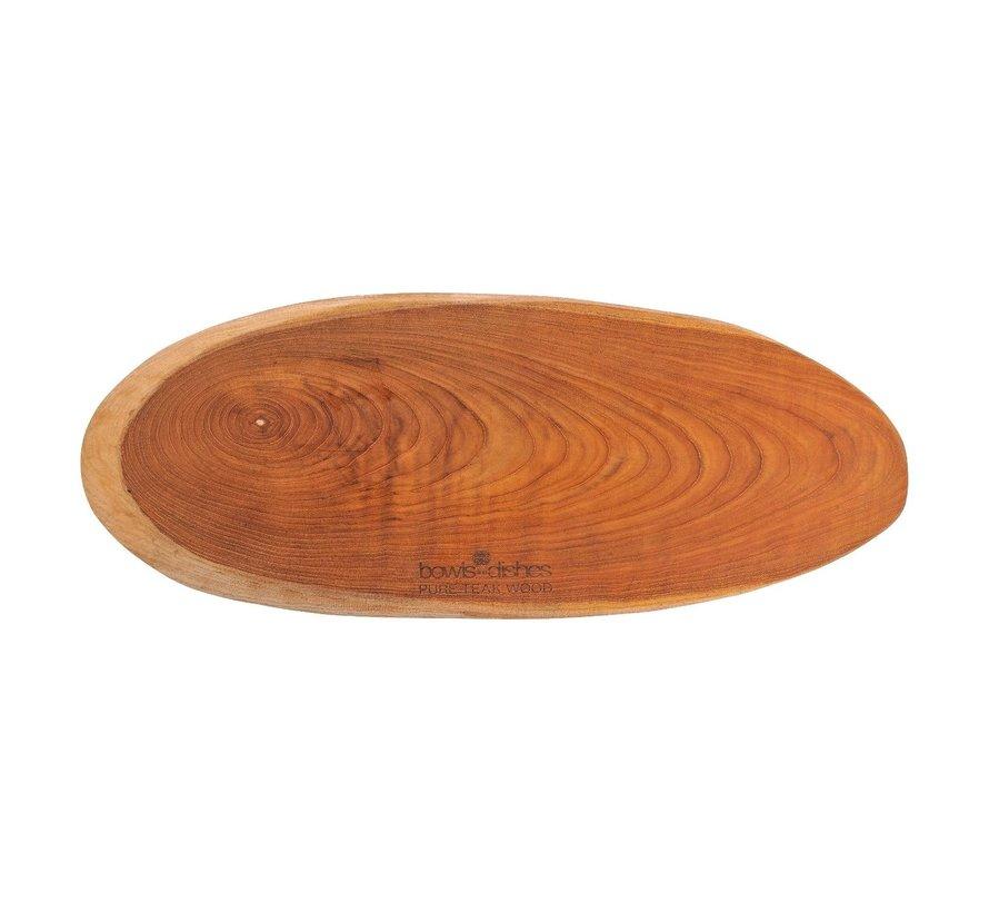 Bowl&Dishe Tapasplank teak 60 cm, 1 stuk