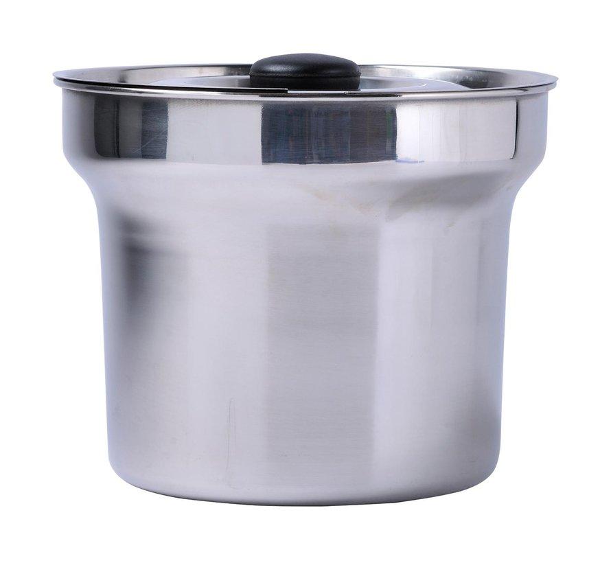 Tgff Bien marie pot met deksel RVS vaatwasmachinebestendig, 1 stuk