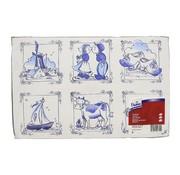 Overige merken Tork Placemats Delft-Ware, 1-laags 27 x 42 cm, 500 stuks