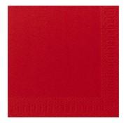 Duni Duni Servetten 2-laags 40 x 40 cm, rood, 125 stuks
