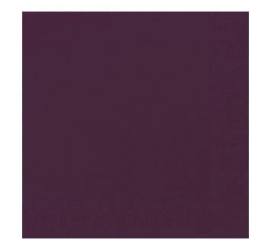 Duni Servetten 2-laags 40 x 40 cm, paars, 125 stuks