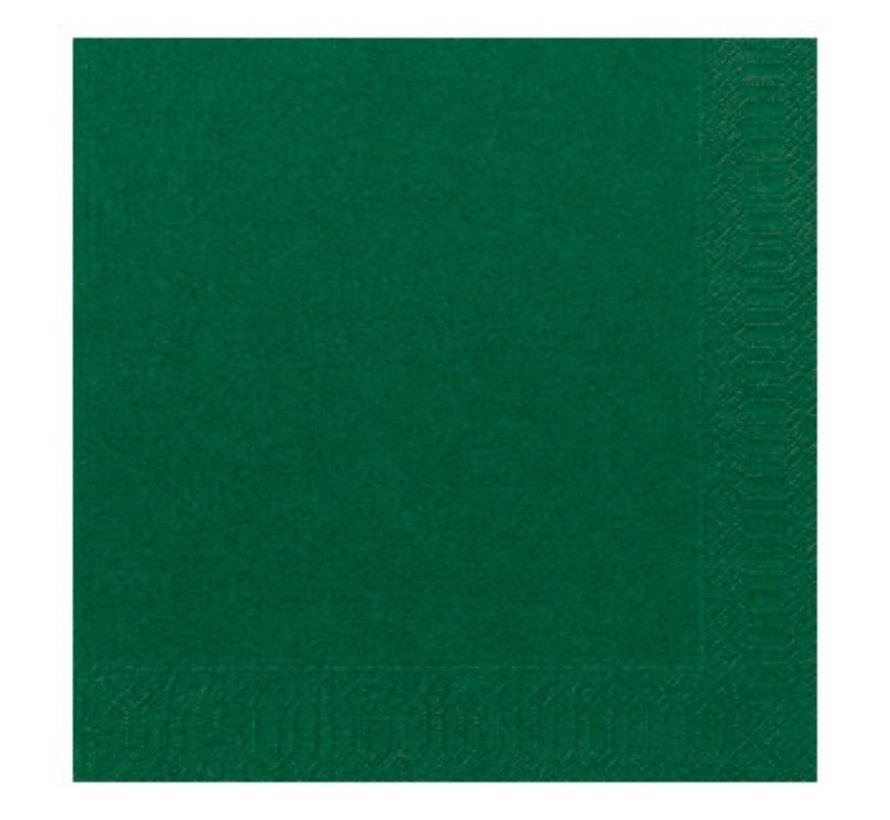 Duni Servetten 2-laags 40 x 40 cm, groen, 125 stuks