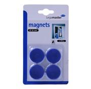 Overige merken Legamaster Magneten blauw 30 mm, 4 stuks