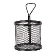 Overige merken Servtrends Draadmand rond 9,3 x 8,8 cm, zwart, 1 stuk