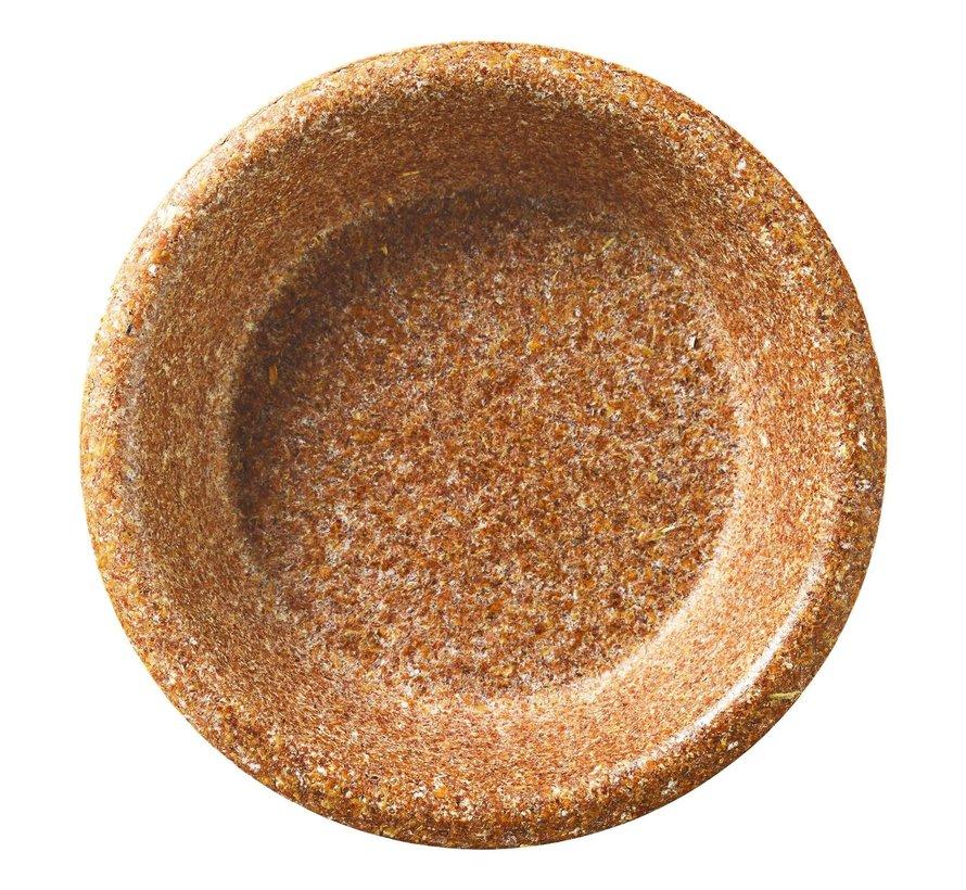 Biotrem Schaal 20 cm - tarwezemelen, 10 stuks