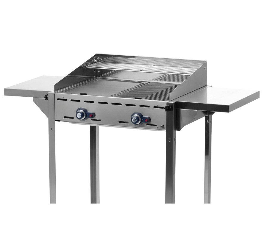 Hendi Zijblad voor Green Fire barbecues 480x298x160, 1 stuk