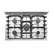 Hendi Hendi Gasfornuis - 5 pits met elektrische oven, 1 stuk
