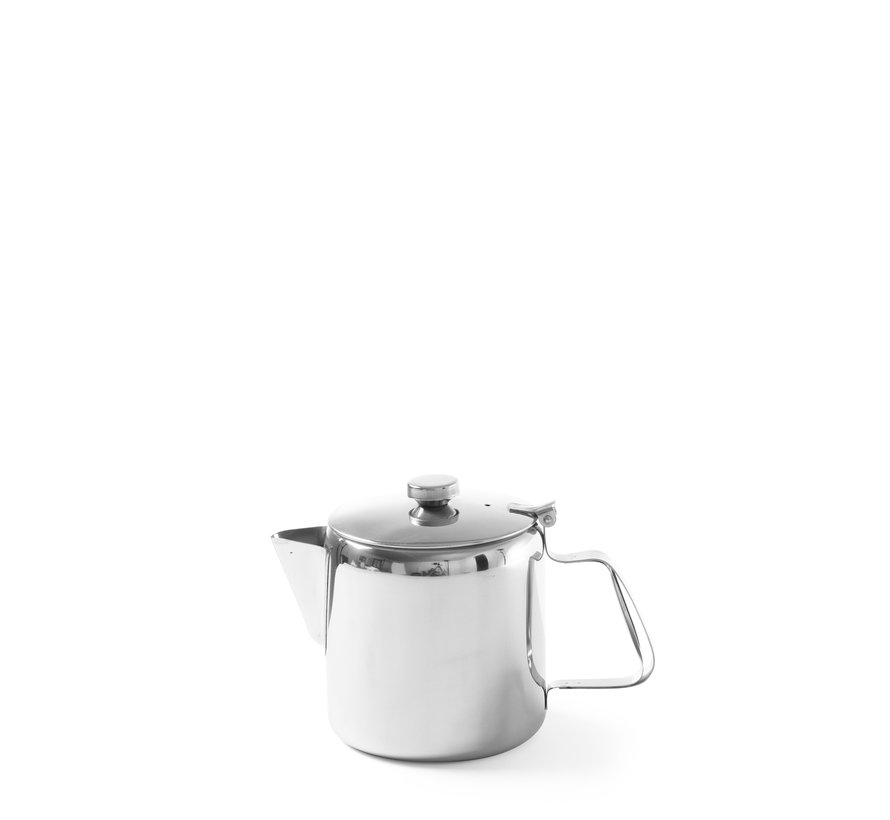 Hendi Koffie-/ theekan met deksel, 1 stuk