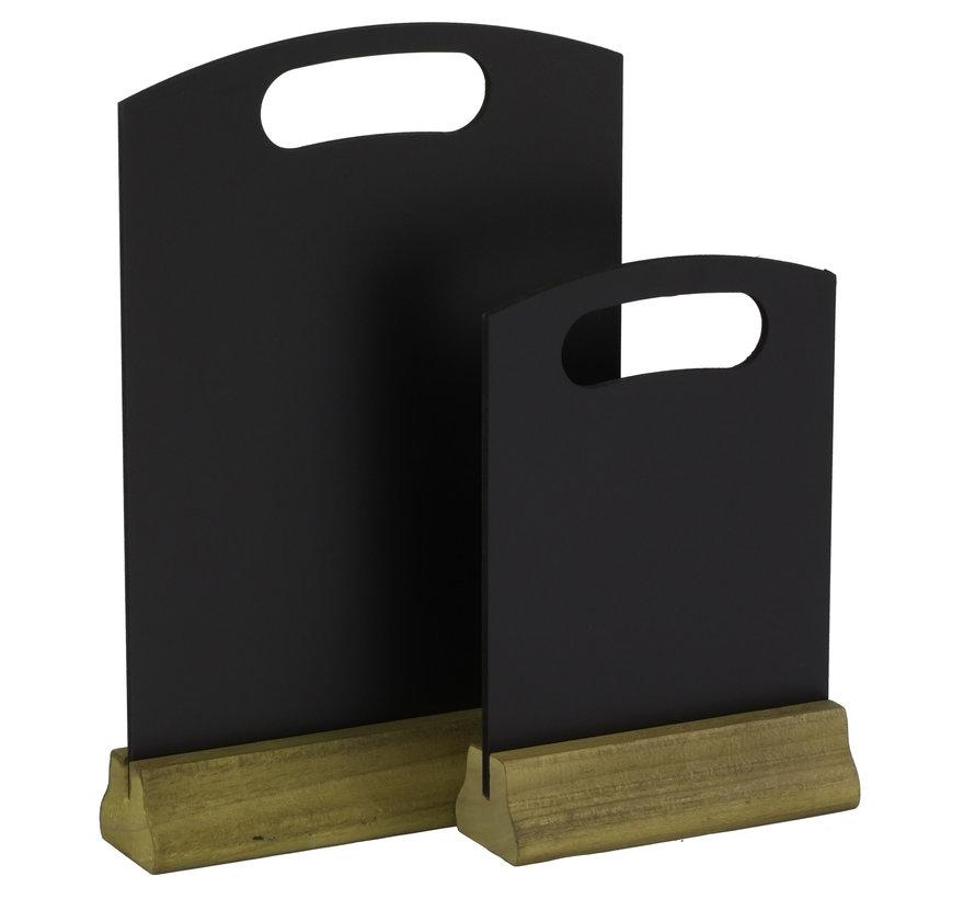 Hendi Tafel krijtbord, 150x50x230 mm, 2 stuks