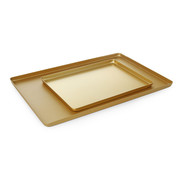 Hendi Hendi Vitrineplateau goudkleurig, 1 stuk