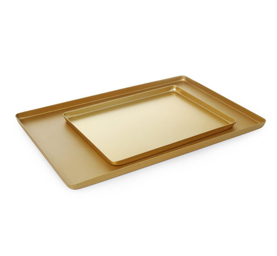 Hendi Vitrineplateau goudkleurig, 1 stuk