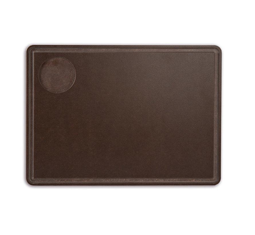 Arcos Serveerplank bruin 33x27cm, 1 stuk