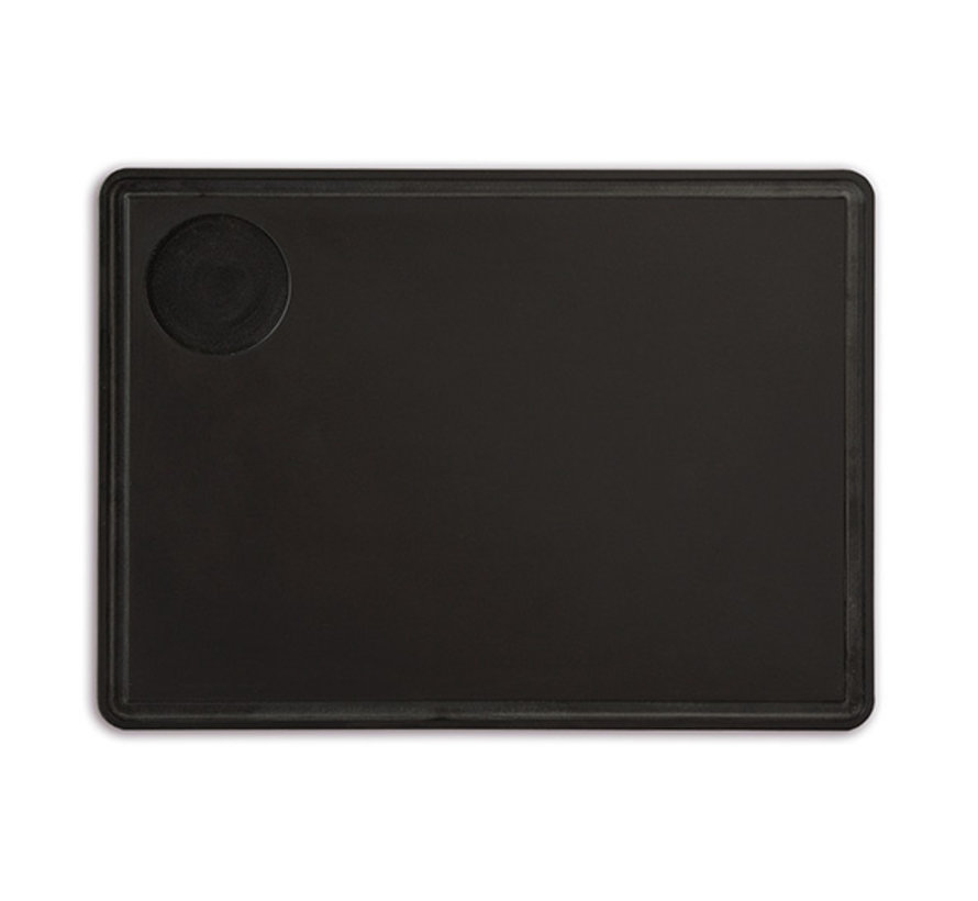 Arcos Serveerplank zwart 33x27cm, 1 stuk