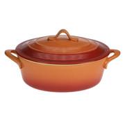 Cosy & Trendy Cosy & Trendy Orange ovenschotel met deksel 0,5l 16,5x, 1 stuk