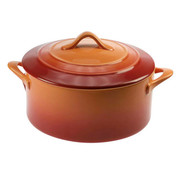 Cosy & Trendy Cosy & Trendy Orange ovenschotel met deksel 0,2l d10xh, 1 stuk